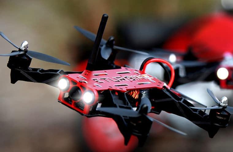 Новый гоночный квадрокоптер ZMR250