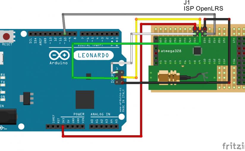 Программатор из Arduino Leonardo