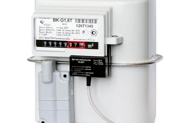 Самодельный датчик импульсов газового или водяного счетчика