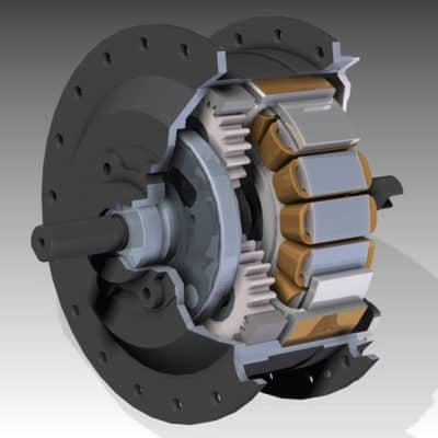мотор-колесо с редуктором